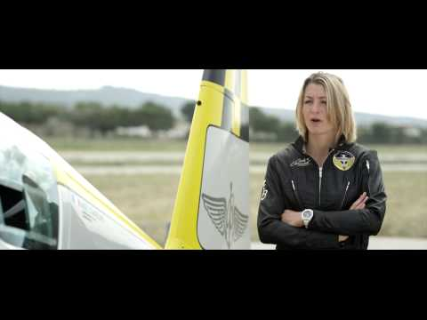 World champion Aude Lemordant flies under Breitling colors