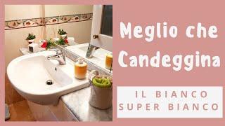 È MEGLIO CHE CANDEGGINA, LAVANDINO SUPER BIANCO, MARLINDA CANONICO