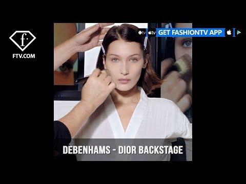 Debenhams presents Dior Backstage Makeup Collection   FashionTV   FTV