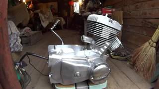 видео Сколько лошадиных сил в мотоцикле иж 56