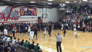 Vashon vs St  Mary's (Playoff Basketball)