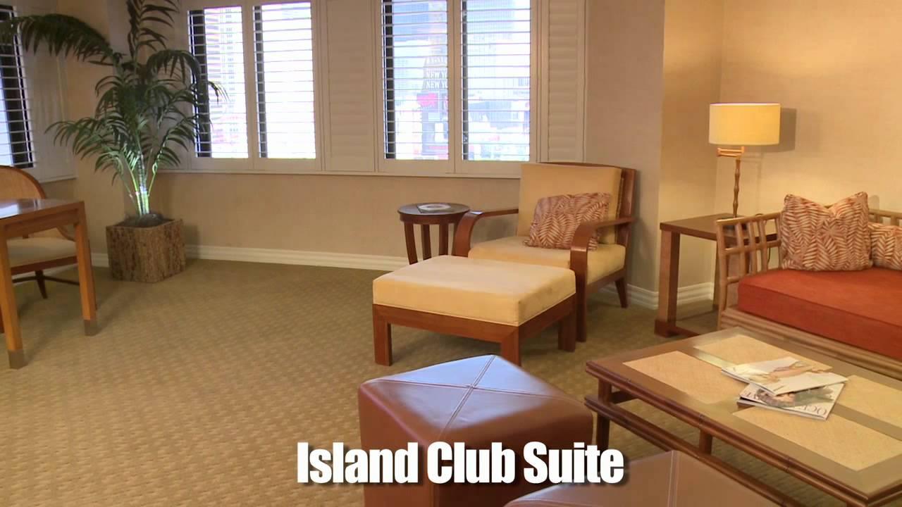 Tropicana Island Club Suite Youtube