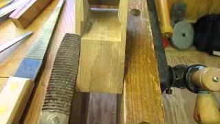 Making A Wooden Coffin Smoother Bench Plane - Step 2