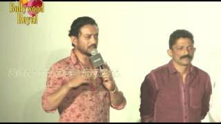 Irrfan Khan, Nishikant Kamat At Song Launch 'Dama Dam' From 'Madaari' Part  2
