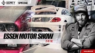 Essen Motor Show 2018 | Mit Piddi zur Tuning Experience |  Sidney Industries