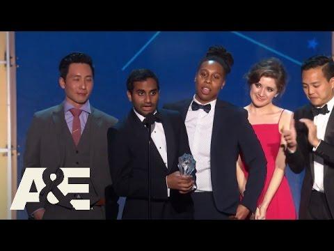 """Master of None"" Wins Best Comedy Series   2016 Critics' Choice Awards   A&E"