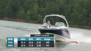 Yamaha 242 Limited S Boat 2011 Performance Test - By BoatTest.com