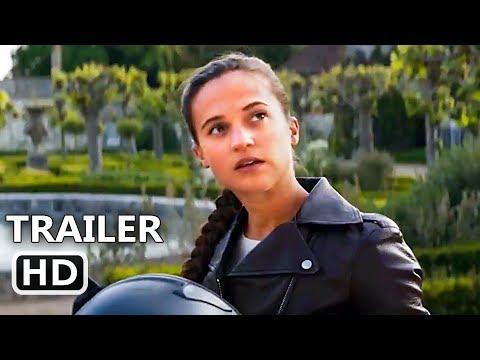 TOMB RAIDER Official Trailer Teaser # 2 (2018) Alicia Vikander Action Movie HD
