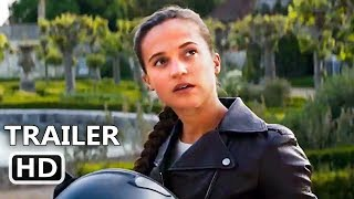 TOMB RAIDER Official Trailer Teaser # 2 (2018) Alicia Vikander Action Movie HD