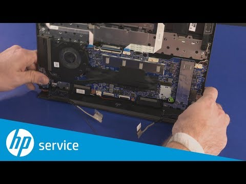 How to Remove the Display Panel Assembly/Top Cover | HP ENVY