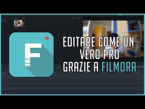 EDITARE COME UN VERO PRO FACILE E VELOCE CON FILMORA