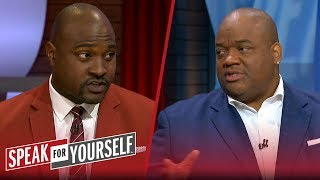 Whitlock and Wiley on OBJ's halftime behavior on TNF | NFL | SPEAK FOR YOURSELF