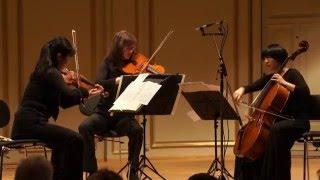 Beethoven String trio op 9 No 1 -  trio oreade Zurich