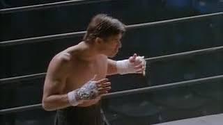 Дэвид Слоун дерется с Тонг По(Отрывок из фильма Кикбоксер: Дорога назад. Мостовой Влад)
