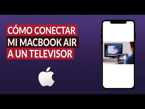 Cómo Conectar mi Macbook Air a un Televisor con Cable HDMI