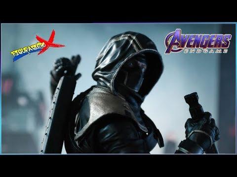 Review Ronin Avengers Endgame Marvel Legends Hasbro Thanos BAF 2019 Revision Español