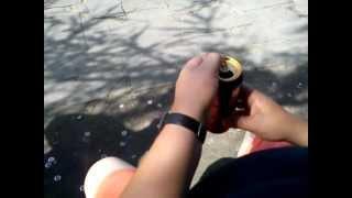 Jak zrobić kaczkę do zioła z puszki po piwie by Alladino ®