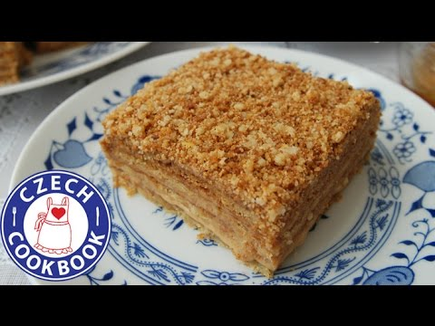 Honey Cake Recipe - Medovník - Czech Cookbook