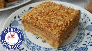 Honey Cake Recipe - Medovník - Czech Cookbook