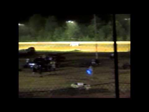 8-1-15 Ponderosa Speedway Pro Late Hot Lap Qualifying, Heat #1, and Feature