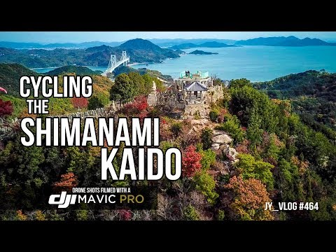 Cycling Japan's Shimanami Kaido with a Drone