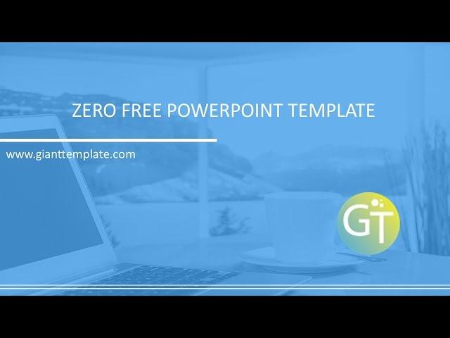 zero free powerpoint template 2017 free powerpoint templates