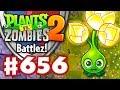 Battlez! Gold Bloom Epic Quest! - Plants vs. Zombies 2 - Gameplay Walkthrough Part 656