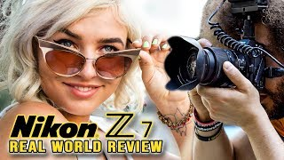 Nikon Z7 Real World Review (vs D850 vs Sony a7R III vs Canon EOS R)