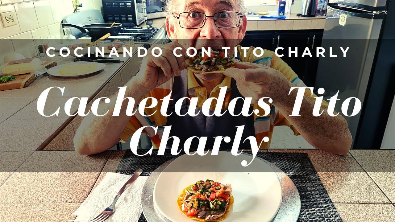 Cocinando las Cachetadas Tito Charly!