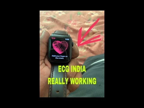 ECG Apple Watch Series 4 INDIA Working | NOT FAKE |