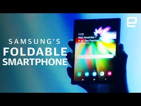 Samsung's foldable Infinity Flex phone unveil in 13 minutes