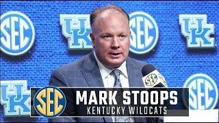 Kentucky's Mark Stoops talks about addition of former Troy QB at SEC Media Days