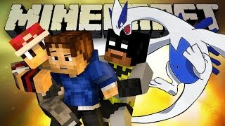 WOOFLESS DEFEATS LUGIA! (Minecraft Lugia Escape (Dragon Escape) with Woofless and Friends!)