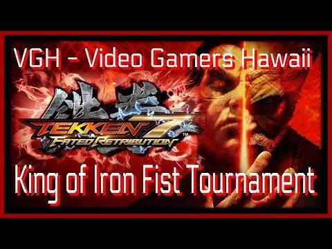 Tekken 7 ZeroHyperGaming Live Stream VGH - Video Gamers Hawaii 808