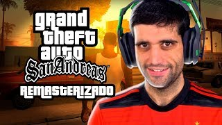 GTA San Andreas REMASTERED - Fiquei IMPRESSIONADO, por favor Rockstar!