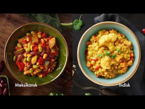 Meksikansk grønnsaksrett fra Fjordland