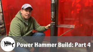 Blacksmithing : Blacksmith Power Hammer Build Part 4