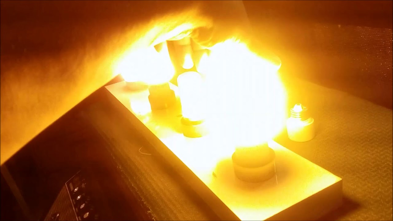 UPDATED LED Flicker Flame/Fire Effect bulbs REVIEW