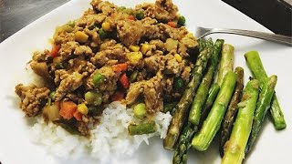Ground Turkey Curry | Healthy Asian Meal Prep Recipes