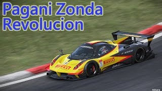 Project CARS Pagani Zonda Revolucion Gameplay