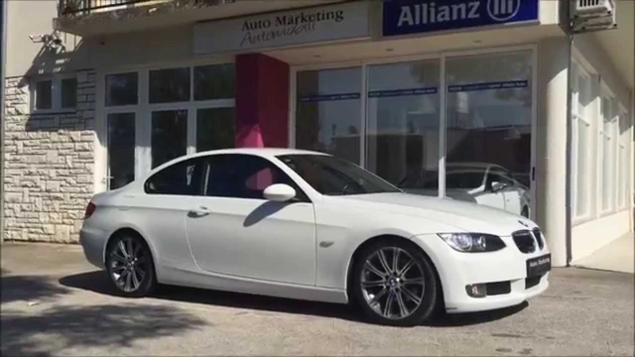 bmw 320d coupe 2009 white youtube. Black Bedroom Furniture Sets. Home Design Ideas