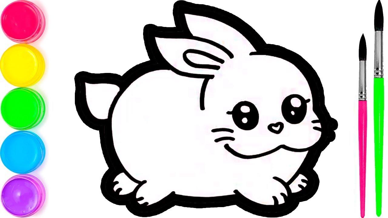 Pelajari Menggambar Dan Mewarnai Kelinci Untuk Anak Anak