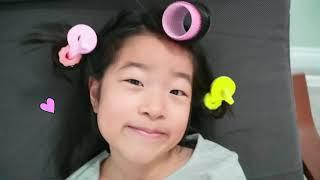 엘라와 미용실놀이 해봐요! 어린이 마스크팩 Ella and Jennie Pretend Play Beauty salon for kids video 아엘튜브 Aeltube