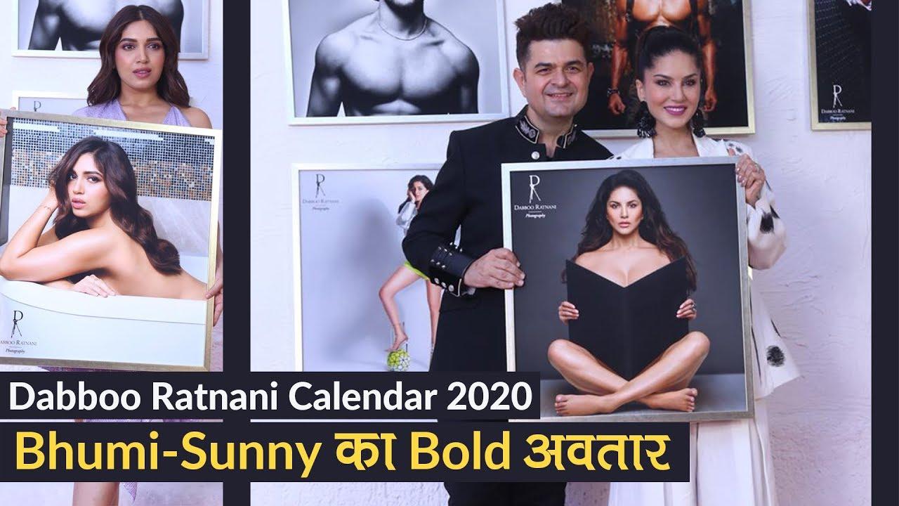 Dabboo Ratnani Calendar Launch 2020: Bhumi Pednekar-Sunny Leone का Bold अवतार