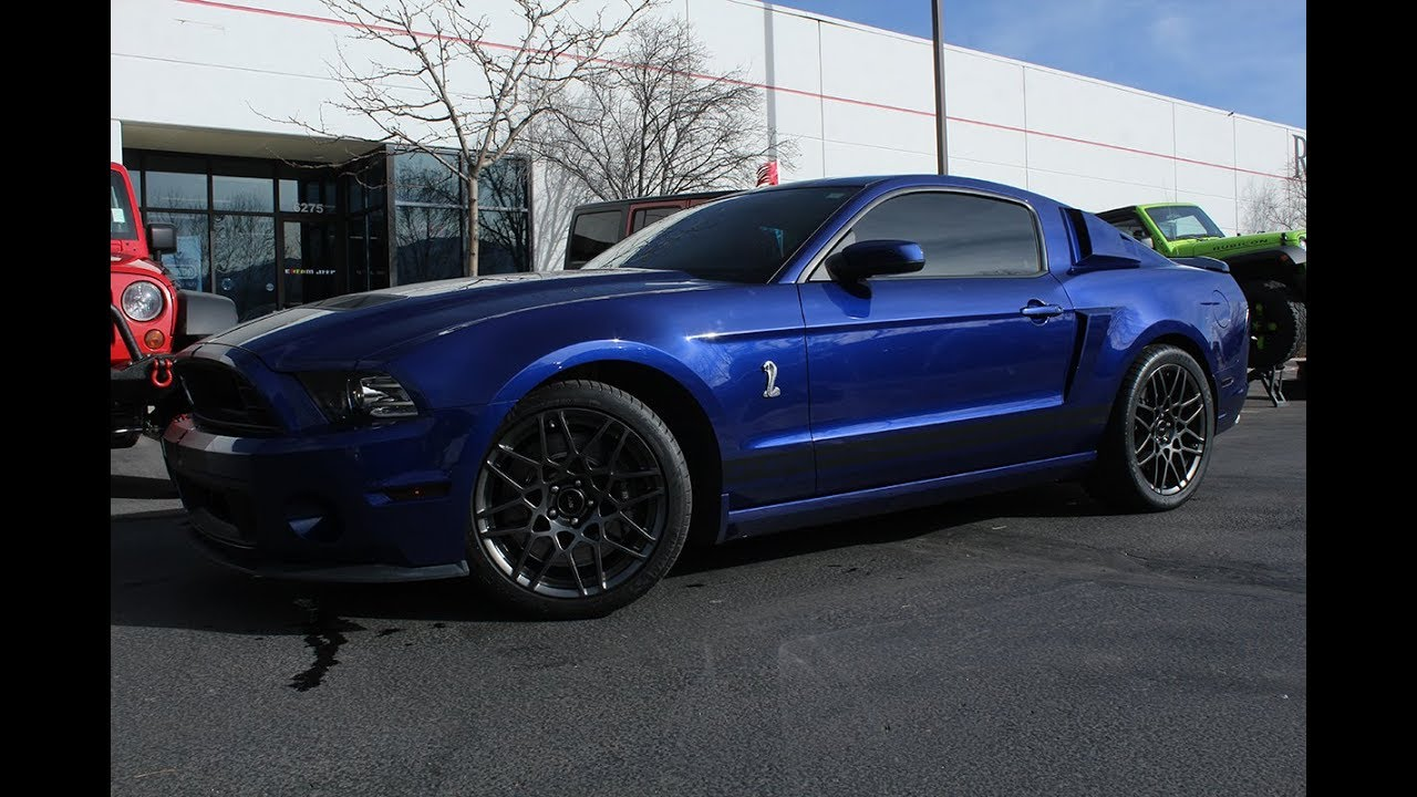 Ford mustang shelby gt500 coupe 2dr 2013 by dream 4x4