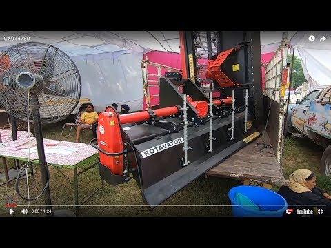 Yodha company 8 feet rotavator with price 1.10 L