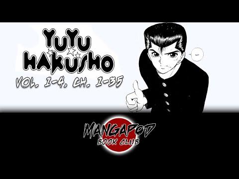 MangaPod Book Club #110: Yu Yu Hakusho (Chapters 1 - 35) with Thalia!