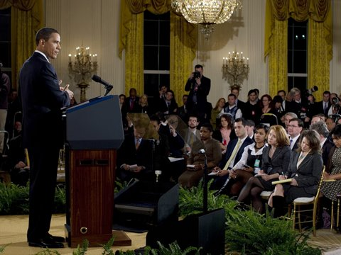 2/9/09: Presidential Press Conference