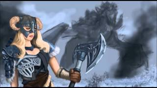 "Speedpainting by Dan ""The Dragonborn Comes"" (Skyrim)"