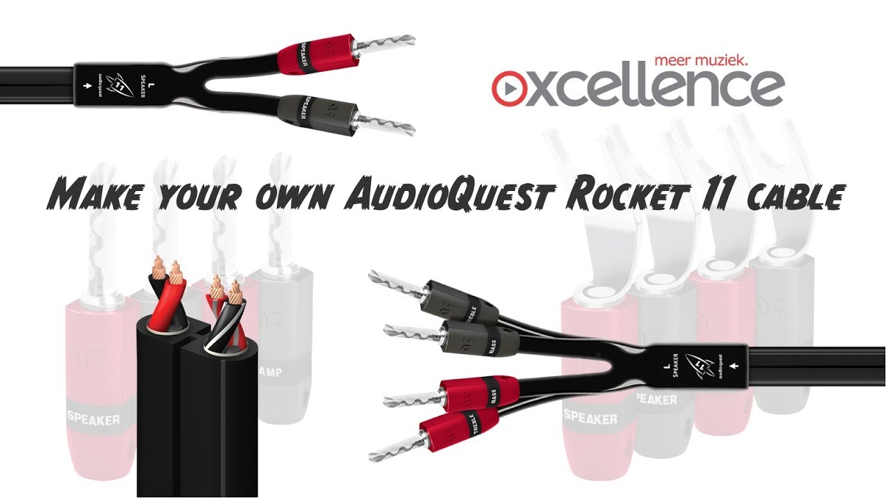 Make your own AudioQuest Rocket 11 cable - YouTube
